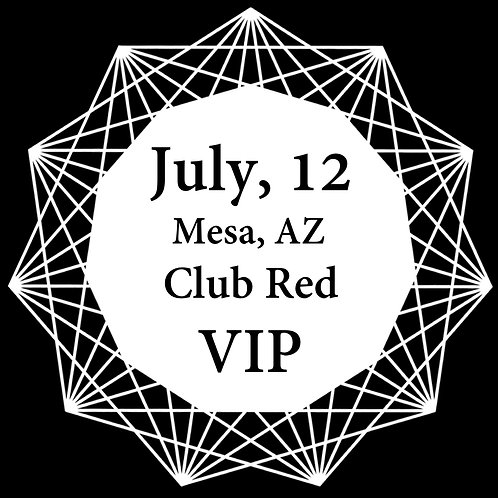 VIP Ticket for Mesa 2018.