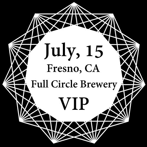VIP Ticket for Fresno 2018.