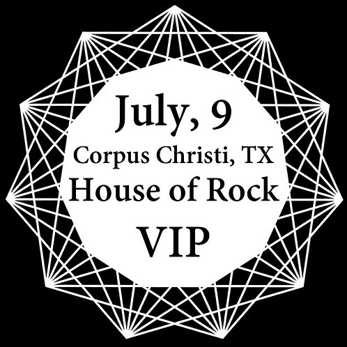 VIP Ticket for Corpus Christi 2018.