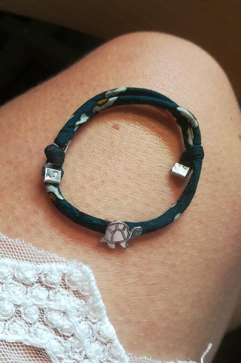 Bracelet bébé réglable tortue