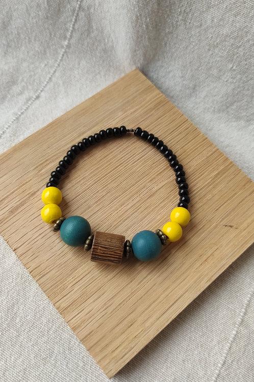 """Bracelet """" Soleil Bleu"""""""