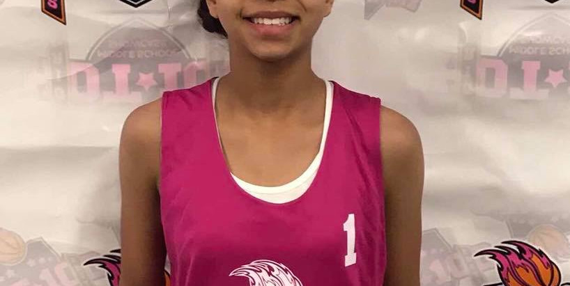 Kristynn Knight (East Millbrook Middle/Raleigh, NC) 2022 5'3 G -