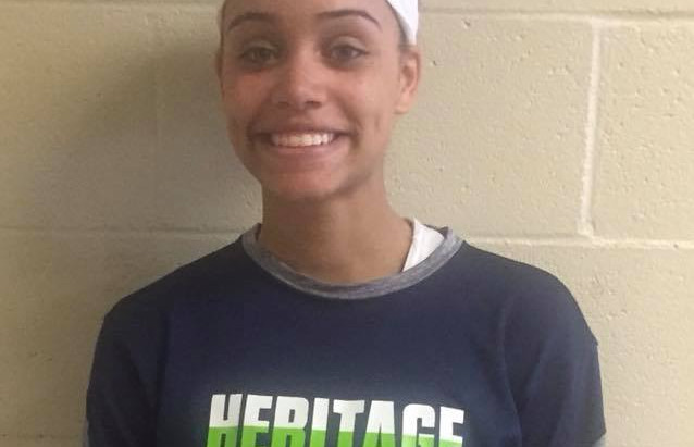 Alissa Smalls (Heritage HS/Wake Forest, NC) 2018 5'7 PG