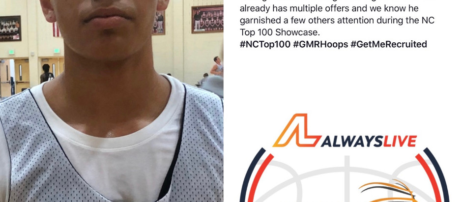 Tristan Maxwell - 6'2 G 2020 (North Mecklenburg HS/Charlotte, NC)