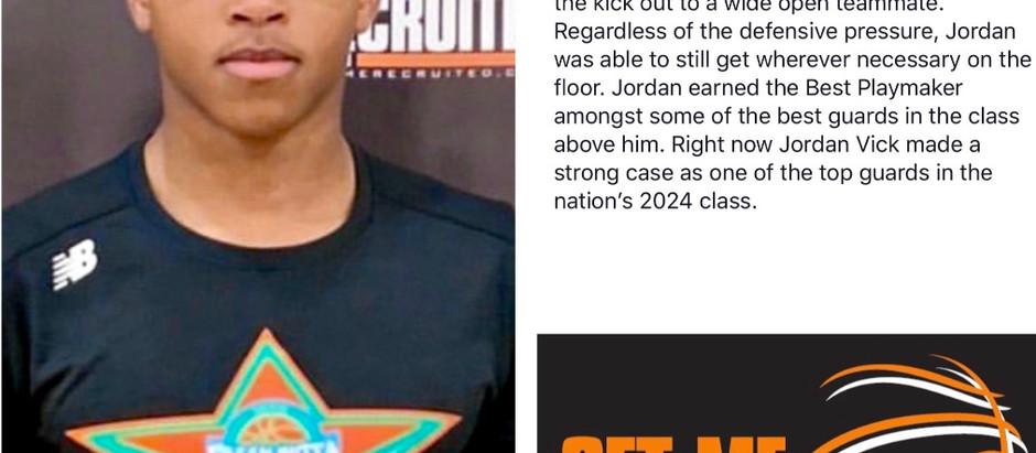Jordan Vick (Southern Nash Middle/Goldsboro, NC) 2024 PG