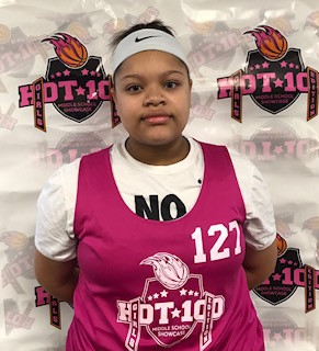 Makayla Thompson (Woodlawn Middle/Burlington, NC) 2024 5'8 C -
