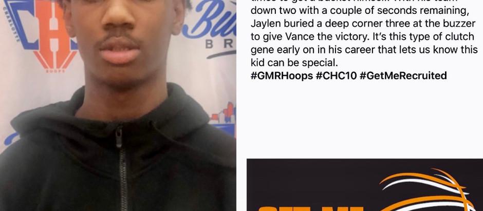 Jaylen Curry (Vance HS/Charlotte, NC) 2023 6'0 CG