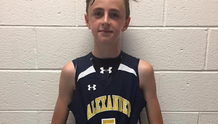 Avery Cook (Alexander Cougars 12U/West Alexander Middle/Taylorsville, NC) 2023 5'10 PG/SG
