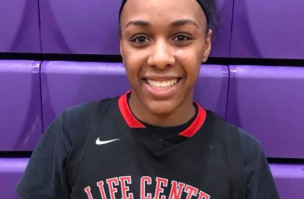 Imani Lewis (Life Center Academy/Burlington, NJ) 2018 6'2 F- (Wisconsin signee)