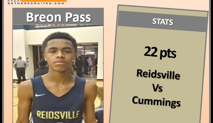 Breon Pass (Reidsville HS/Reidsville, NC) 2021 5'11 G