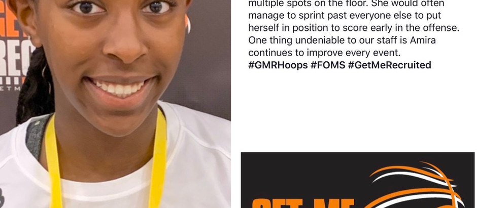 Amira Ofunniyin (East Garner Magnet HS/Garner, NC) 2023 5'10 F