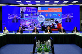 Владимир Савинов выступил на Международной специализированной выставке RosBuild 2021