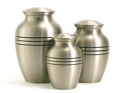 Classic Pewter Vase Urn