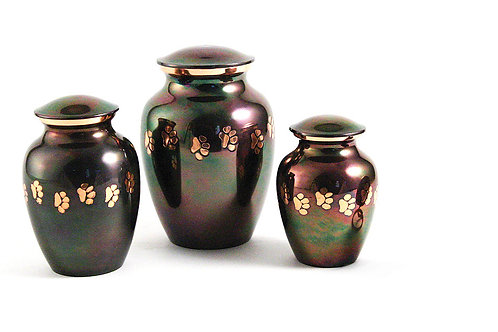 Classic Paw Raku Vase Urn