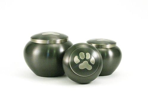 Odyssey Slate/Pewter Vase Urn