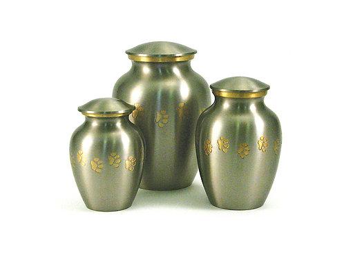 Classic Paw Pewter Vase Urn