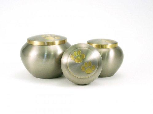 Odyssey Pewter-Bronze Vase Urn