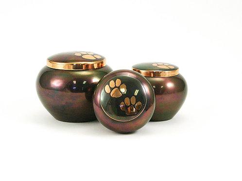 Odyssey Copper/Raku Vase Urn