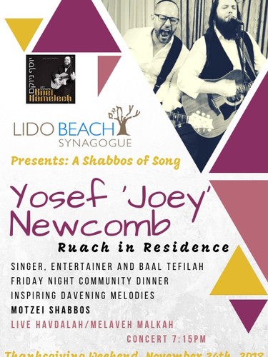 sm Ruach In residence with Yosef Newcomb