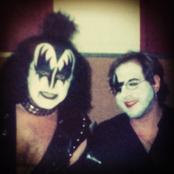 Gene Simmons and Keith pre-show