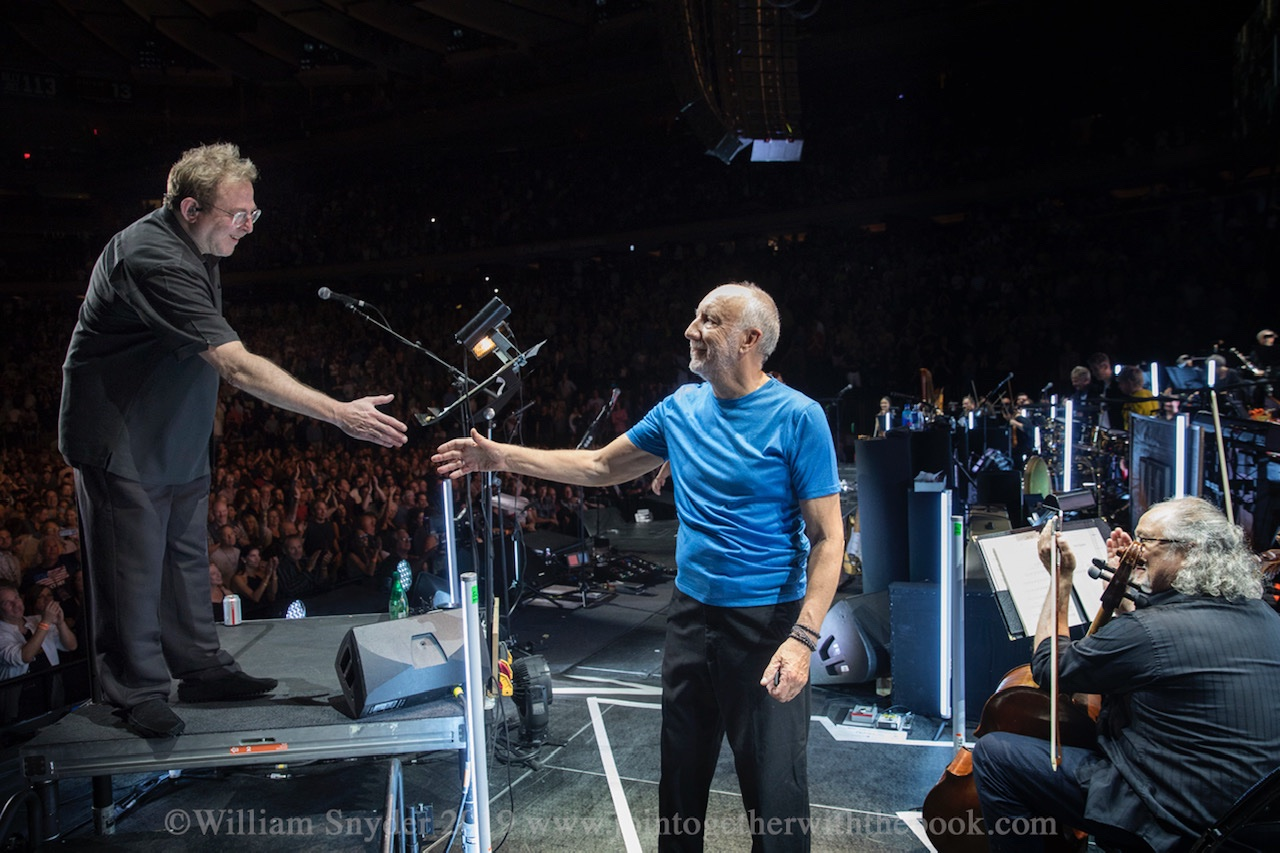 Keith and Pete Townshend