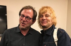 Keith and Zak Starkey