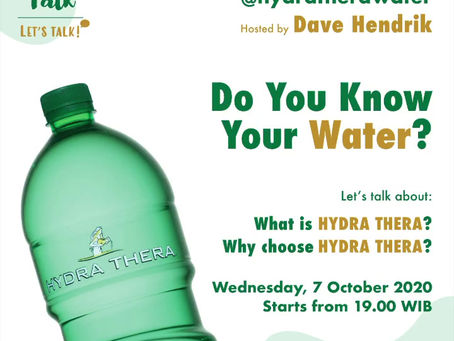 Theratalk: Do You Know Your Water
