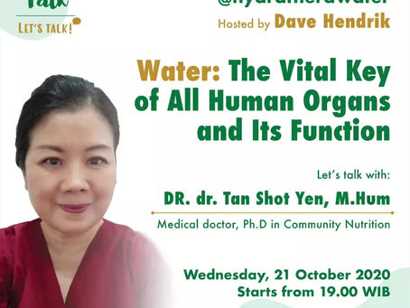 Theratalk: Water: The Vital Key of All Human Organs and Its Function