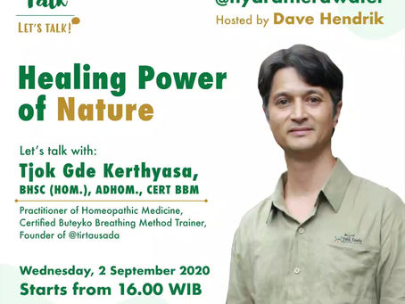 Thera Talk: Healing Power of Nature