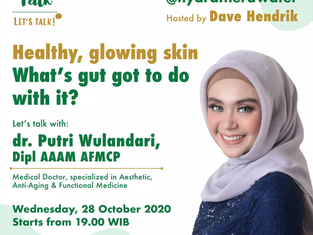 Theratalk: Healty, glowing skin. What's gut got to do with it?