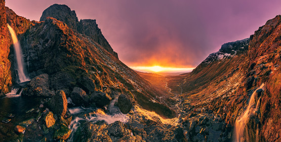 Mahon Falls Sunrise