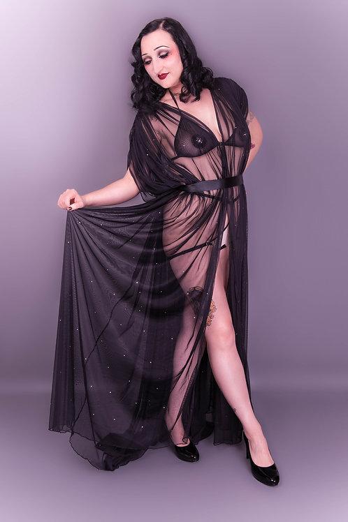 Sheer Showgirl Robe