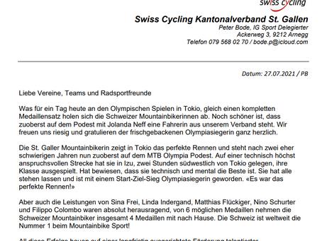 """""""News"""" Swiss Cycling Kantonalverband St.Gallen"""
