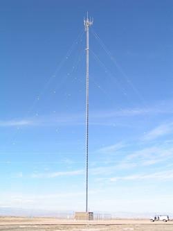 Redwash UT - Guyed Tower