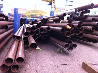 Трубы металлические из черной стали