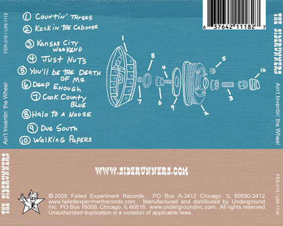 siderunners (cd back cover)