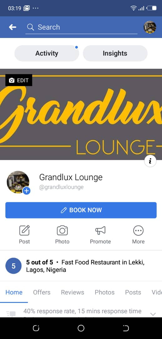 Grandlux Lounge FB