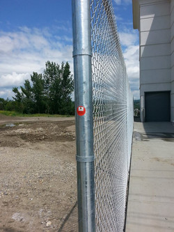 Canada Olypic Parks Calgary Area Storage Fence