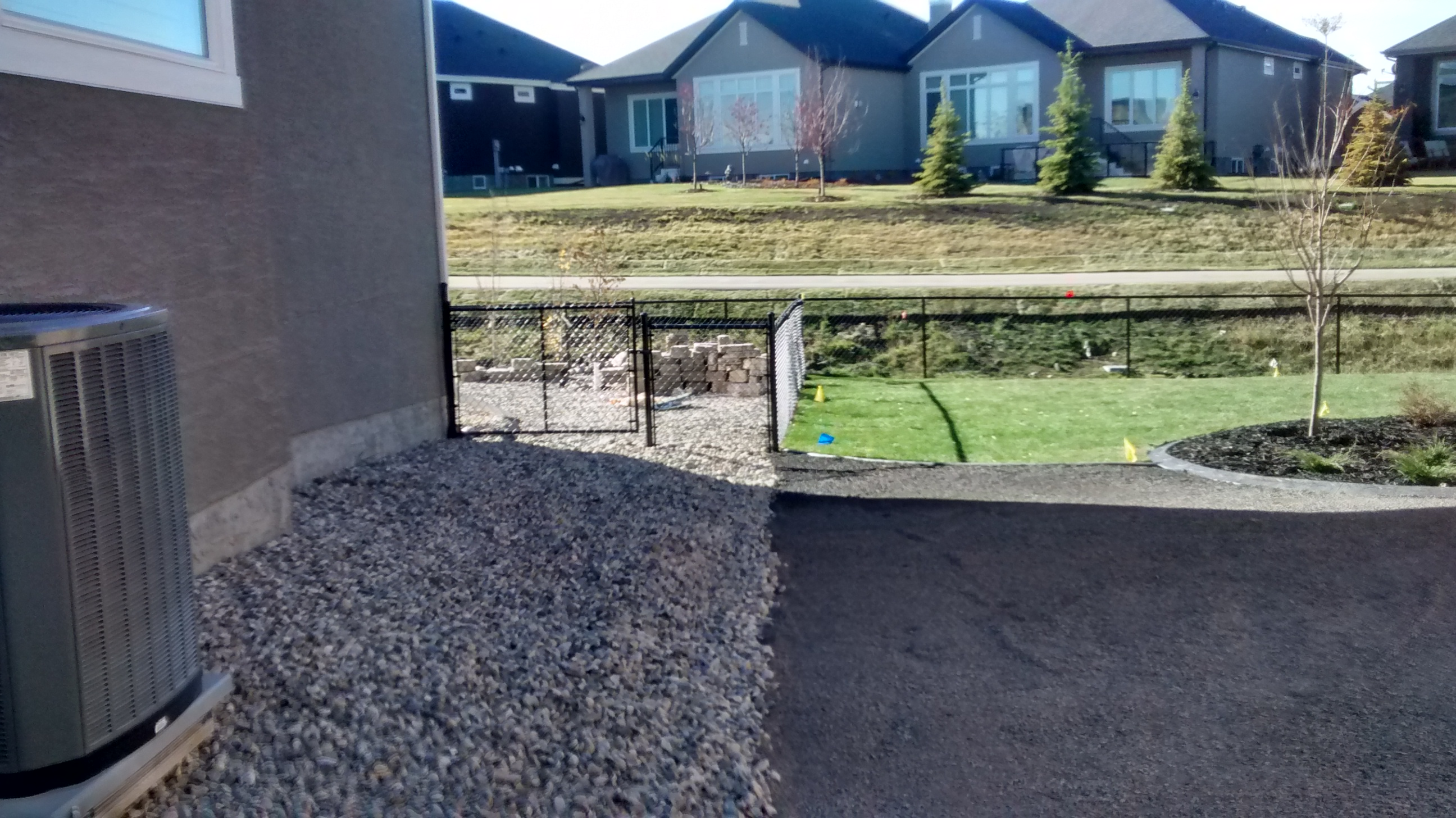 Residential Chain-Link Fence