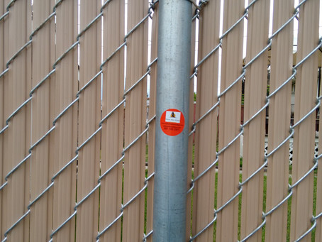Chain-Link Fencing Perhaps the best-known type of galvanized fencing