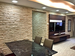 Dining, TV and Passageway Feature