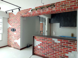 Custom Dining Space Feature