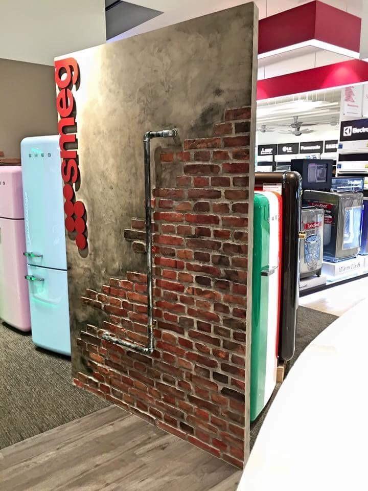 Smeg Refrigerators Showroom