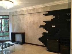 Custom Living Space Feature