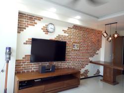 Customised Brick Wall