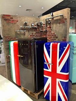 Smeg Refrigerators Showroom