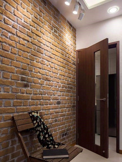 Entrance Doorway Feature Wall