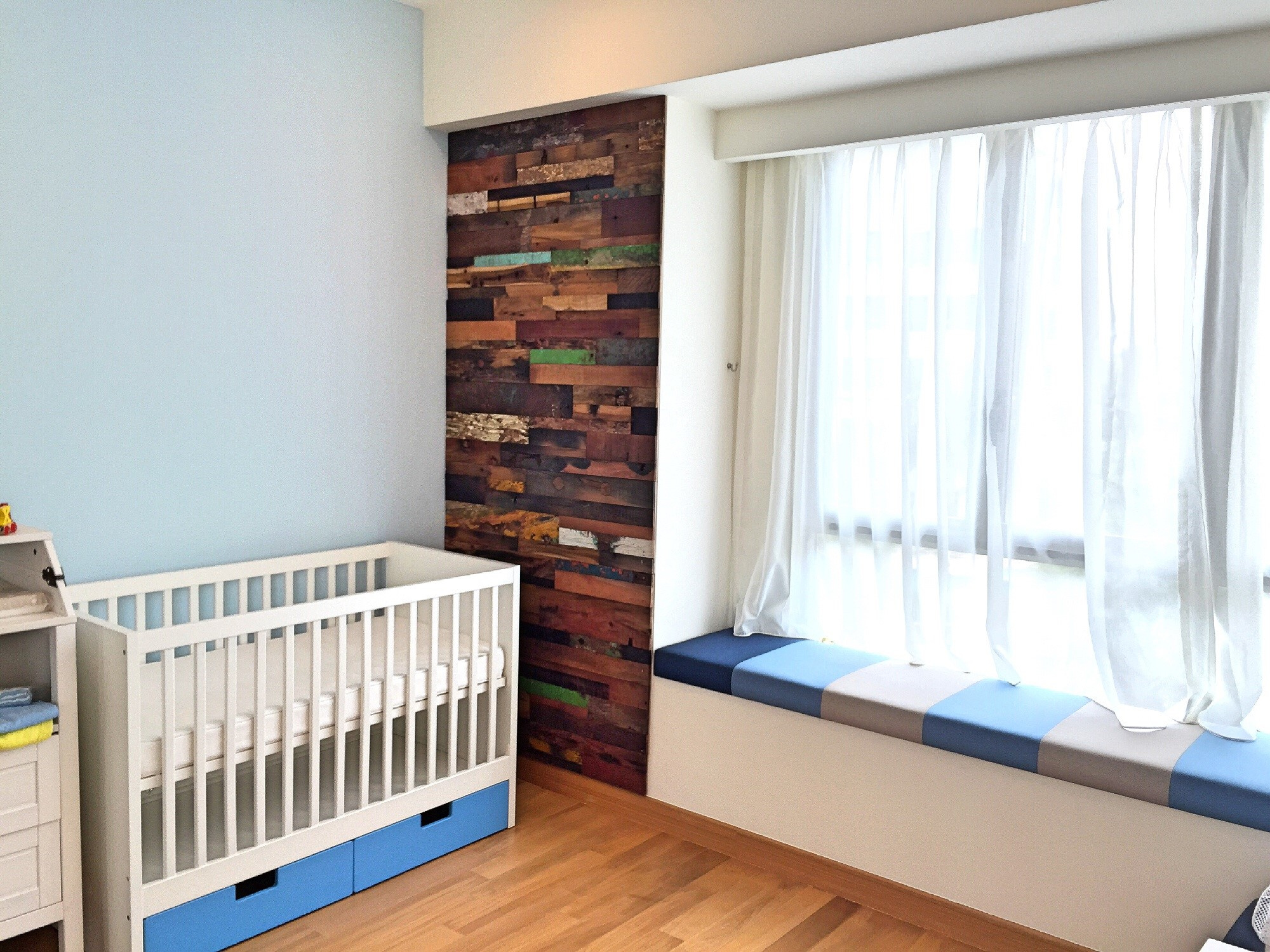 Baby Room Accent Wall