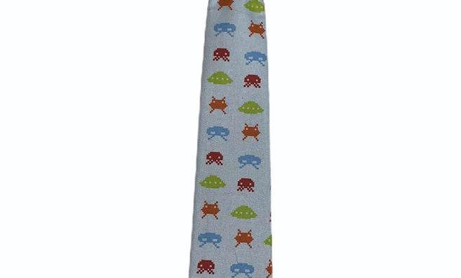 Space Invaders Kids Velcro Tie