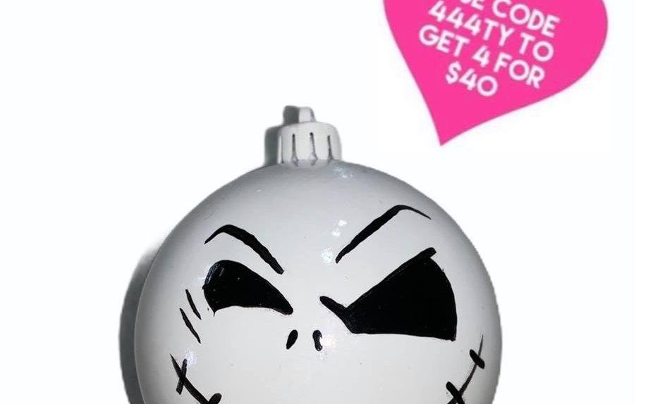 Nightmare before Christmas Bauble - Jack - Wink